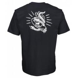 Tee Shirt Santa Cruz Snake Bite Black 2020 pour homme