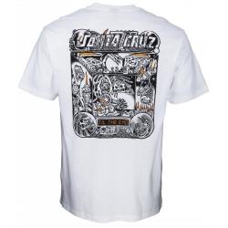 Tee Shirt Santa Cruz Multimedia Witchcraft White 2020 pour homme, pas cher