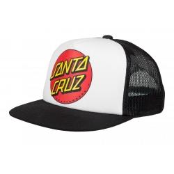 Casquette Santa Cruz Kid Classic Dot White 2021 pour junior