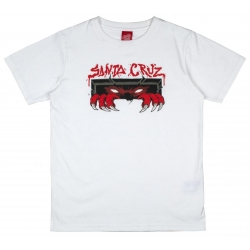 Tee Shirt Santa Cruz Unknown White 2020 pour junior