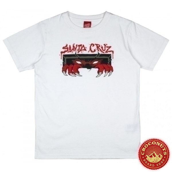 Tee Shirt Santa Cruz Unknown White 2020