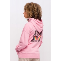 Sweat Santa Cruz Hand Mural Dusty Rose 2020 pour femme