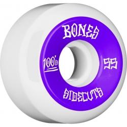 Roues Bones 100's White 55MM 2020 pour