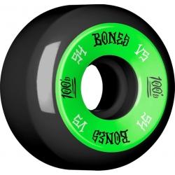 Roues Bones 100's White 54MM 2020 pour