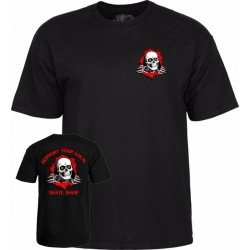 Tee Shirt Powell Peralta Support Your Local Shop Black 2020 pour homme, pas cher