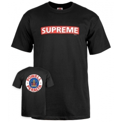 Tee Shirt Powell Peralta Supreme Black  2020 pour homme