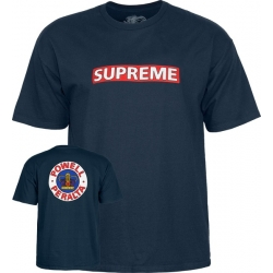 Tee Shirt Powell Peralta Supreme Navy 2020 pour homme
