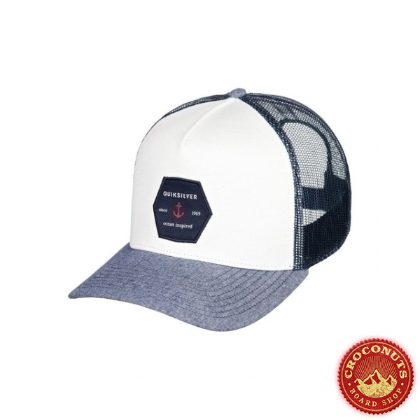 Casquette Quiksilver Proverbs NAvy Heather 2020