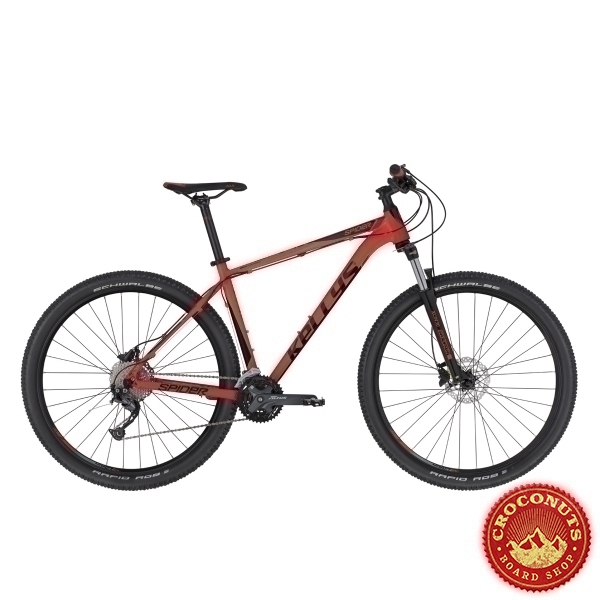 Vtt Kellys Spider 70 27.5 Red 2020
