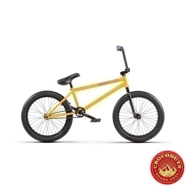 Bmx Radio Bike Darko Gold 20.5 2020