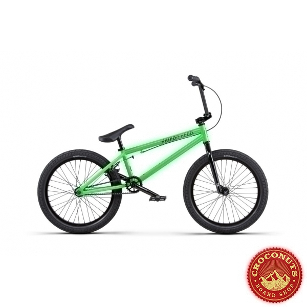 Bmx Radio Dice 20 Neon Green 2020