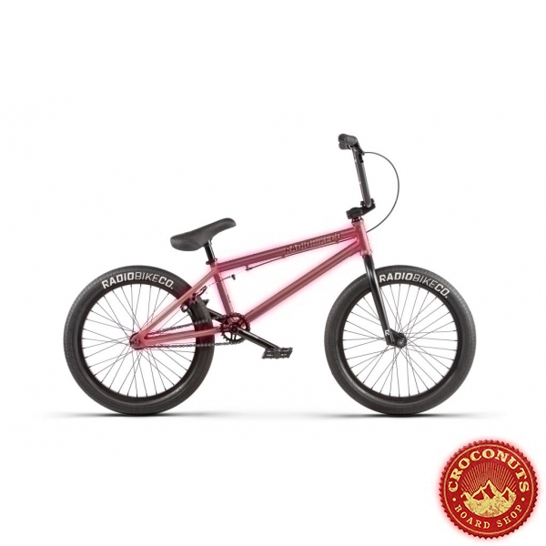 Bmx Radio Bike Evol Matt Pink 2020