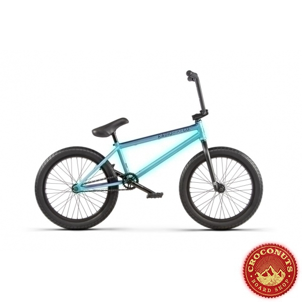 Bmx Radio Bike Valac Mint Purple Fade 2020