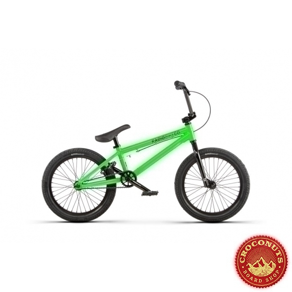 Bmx Radio Bikes Dice 18 Neon Green 2020
