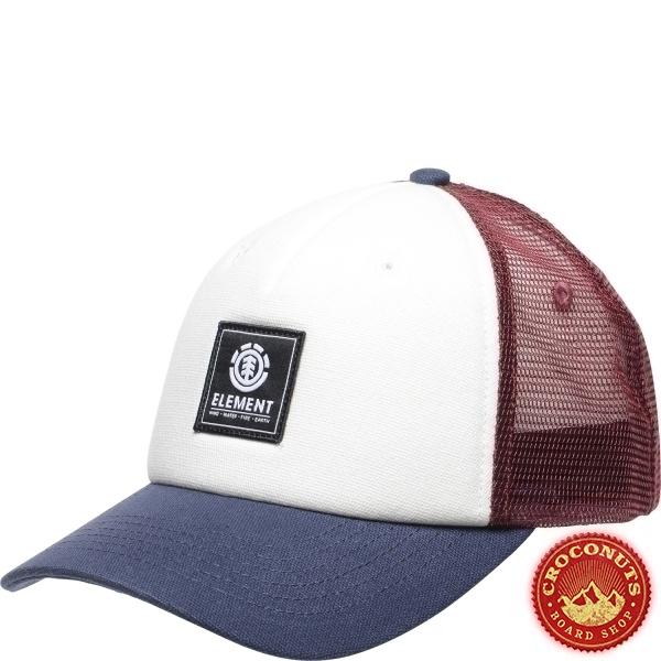 Casquette Element Icon Mesh Oxblood Red 2020