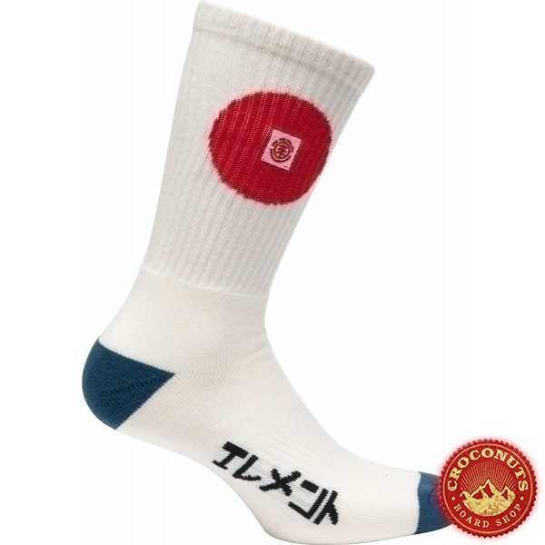 Chaussette Element Tokyo Off White 2020