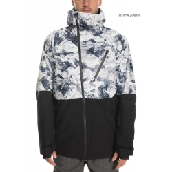 Veste 686 GLCR Hydra Thermagraph White Alps 2020 pour homme, pas cher