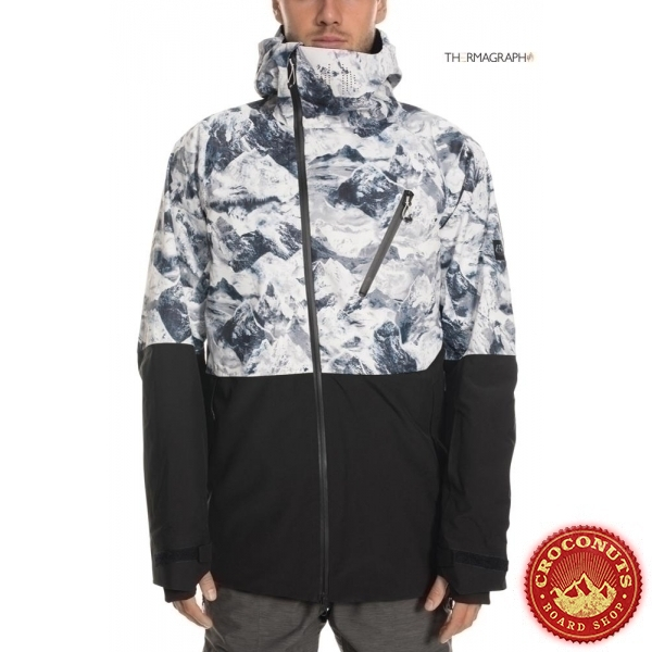 Veste 686 GLCR Hydra Thermagraph White Alps 2020