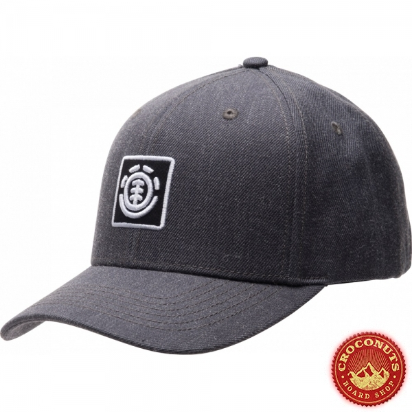 Casquette Element Treelogo Charcoal Heather  2020