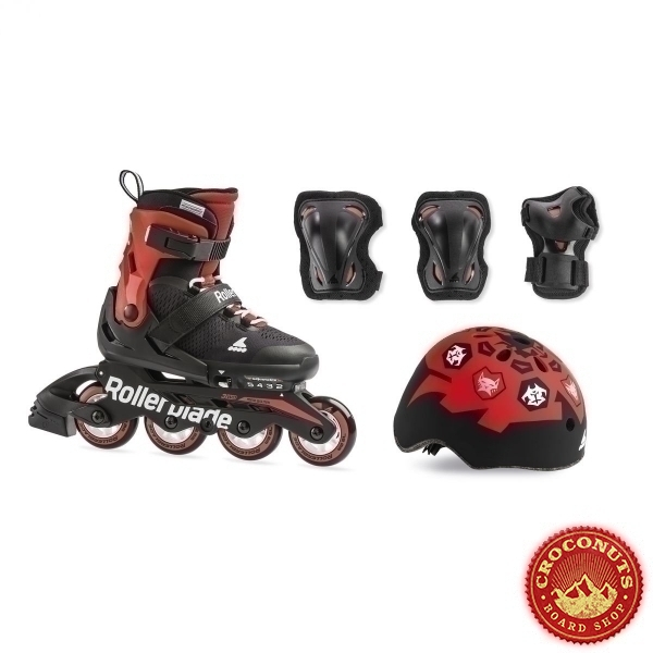 RollerBlade Cube Noir Rouge 2020