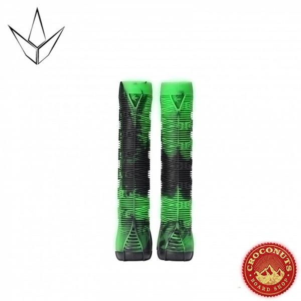 Poignées Blunt Hand Grip v2 Green Black 2020