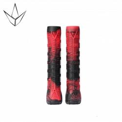 Poignées Blunt Hand Grip v2 Red Black 2020 pour