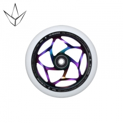 Roue Blunt Tri Bearing 120MM Oilslick White 2020 pour