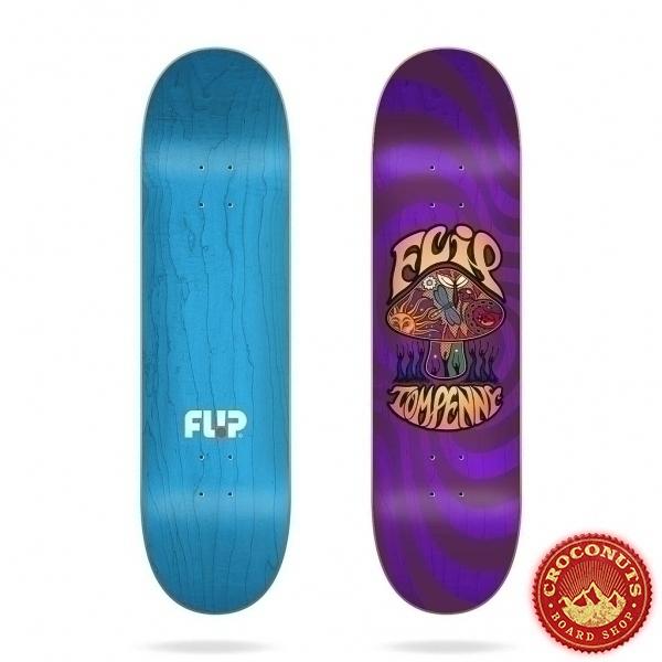 Deck Flip Loveshroom Stained Purple 8.13 2020