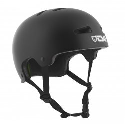 Casque TSG Evo Solid Color Satin Black 2020 pour