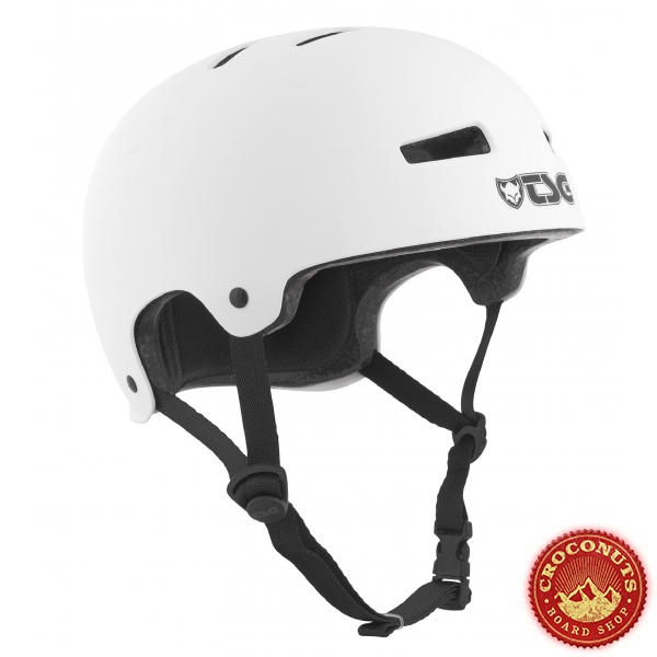 Casque TSG Evo Solid Color Satin White 2020