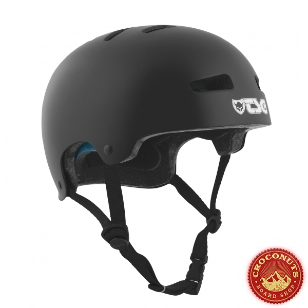 Casque TSG Evo Solid Color Satin Black 2020