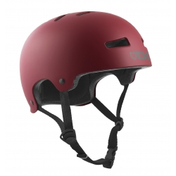 Casque TSG Evo Solid Color Satin Oxblood 2020 pour