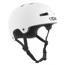 Casque TSG Evo Solid Color Satin White 2020 pour