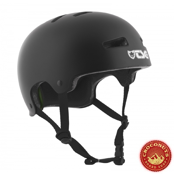 Casque TSG Evo Youth Solid Color Black 2020