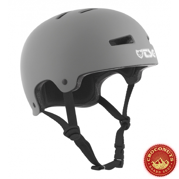 Casque TSG Evo Solid Color Satin Coal 2020