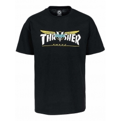Tee Shirt Thrasher Venture Collab Black 2020 pour