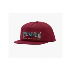 Casquette Thrasher Hieroglyphic Maroon Snapback 2020 pour