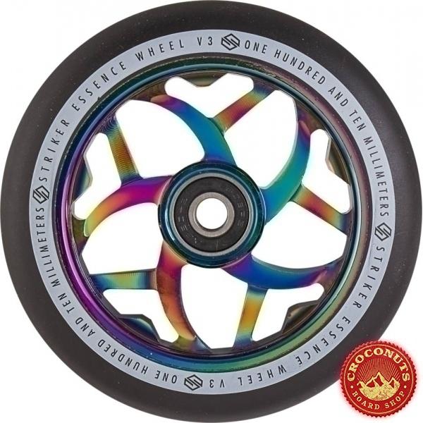 Roue Striker Essence V3 Noir Rainbow 110mm 2020