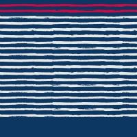 Poncho After Essentials Sailor Stripes Marine 2020