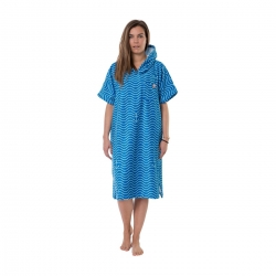 Poncho After Essentials Waves Marine 2020 pour