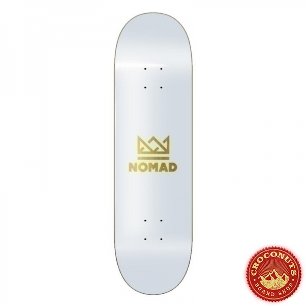 Deck Nomad Crown Yellow 8.125 2020
