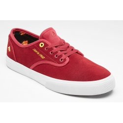 Shoes Emerica Wino Standard X Santa Cruz Red White 2020 pour