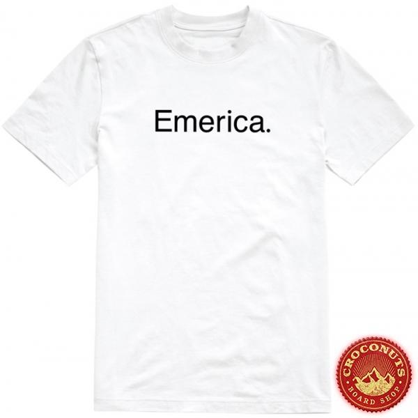 Tee Shirt Emerica X Santa Cruz Screming Tee White 2020
