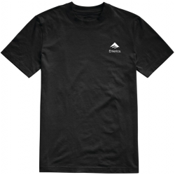 Tee Shirt Emerica X Santa Cruz Logo Drop Black 2020 pour