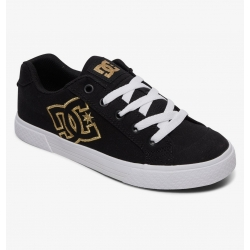 Shoes DC Shoes Chelsea TX Black Gold 2020 pour femme, pas cher