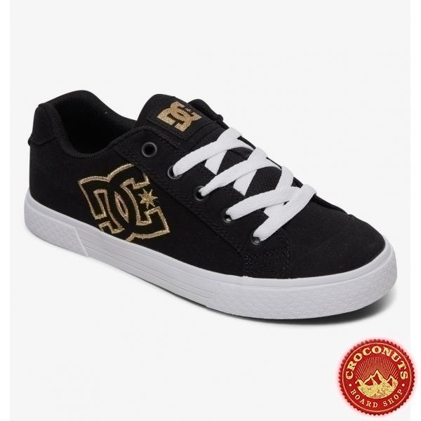 Shoes DC Shoes Chelsea TX Black Gold 2020