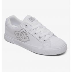 Shoes DC Shoes Chelsea TX White Silver 2020 pour femme, pas cher