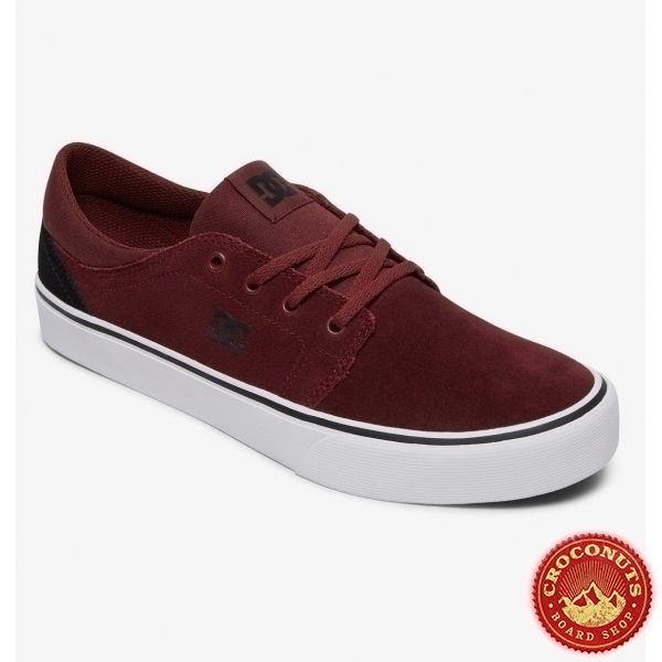 Shoes DC Shoes Trase SD Black Dark Red 2020