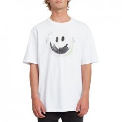 Tee Shirt Volcom Fake Smile White 2020 pour , pas cher
