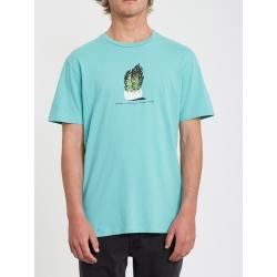 Tee Shirt Volcom Cinder Block Mysto Green 2020 pour , pas cher